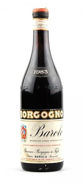 Wein 1983 Barolo Giacomo Borgogno