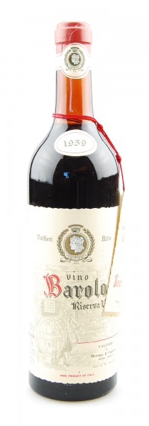 Wein 1959 Barolo Riserva Valfieri