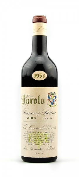Wein 1958 Barolo Franco Fiorina