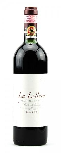 Wein 1991 Chianti Classico Riserva La Lellera