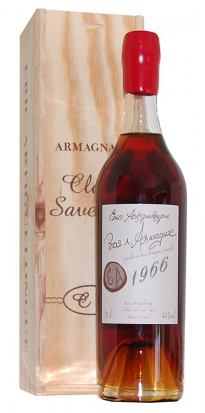 Armagnac 1966 Armagnac Clos des Saveurs
