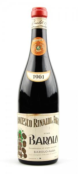 Wein 1961 Barolo Francesco Rinaldi