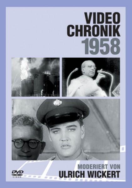 DVD 1958 Chronik Deutsche Wochenschau in Holzkiste