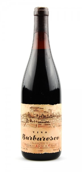 Wein 1970 Barbaresco Luigi Vercelli