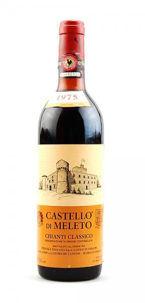 Wein 1975 Chianti Classico Castello di Meleto