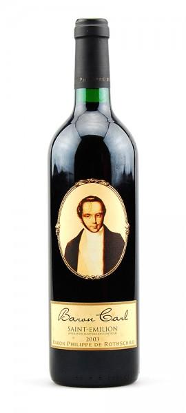 Wein 2003 Baron Philippe de Rothschild