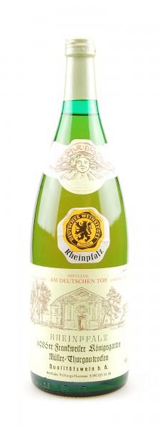 Wein 1986 Frankweiler Königsgarten Müller-Thurgau