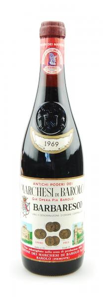 Wein 1969 Barbaresco Marchesi di Barolo