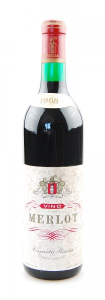 Wein 1968 Merlot Vinicola Poscia