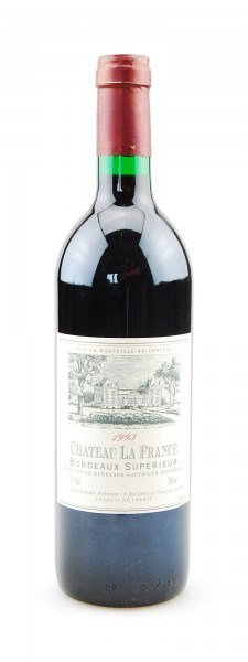 Wein 1993 Chateau La France Bordeaux Superieur