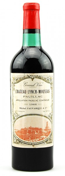 Wein 1966 Chateau Lynch-Moussas 5eme Grand Cru Classe