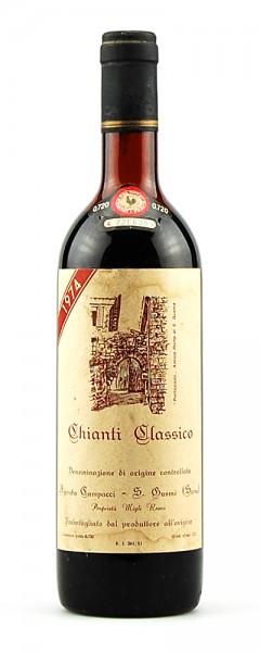 Wein 1974 Chianti Classico Podere Campacci
