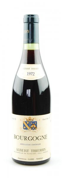 Wein 1972 Bourgogne Albert Thierry