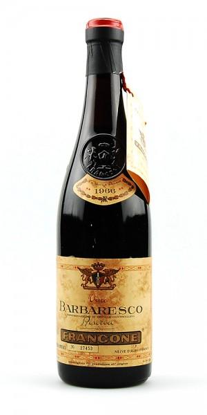 Wein 1966 Barbaresco Francone Riserva Numerata