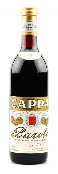 Wein 1971 Barolo Angelo Cappa