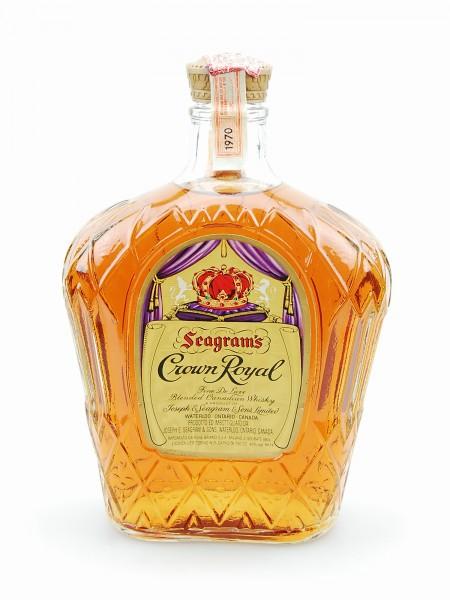 Whisky 1970 Seagram´s Crown Royal Blended Whisky