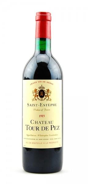 Wein 1985 Chateau Tour de Pez