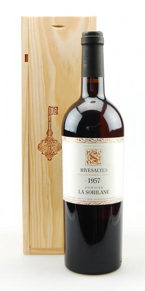 Wein 1957 Rivesaltes Domaine La Sobilane