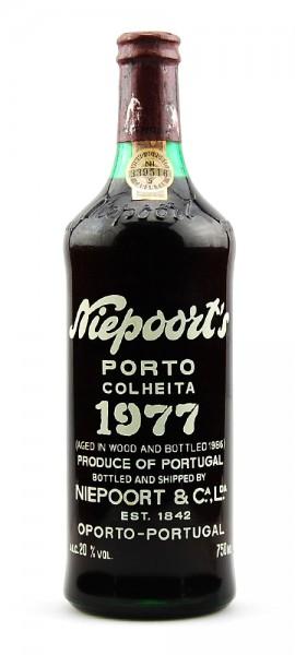 Portwein 1977 Niepoort Colheita