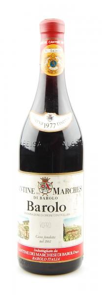 Wein 1977 Barolo Riserva Marchesi di Barolo