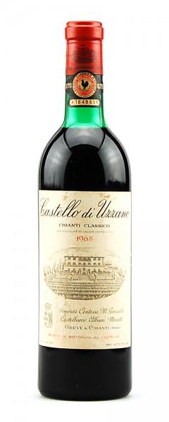 Wein 1968 Chianti Classico Castello di Uzzano Masetti