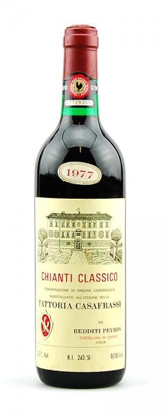 Wein 1977 Chianti Classico Fattoria Casafrassi