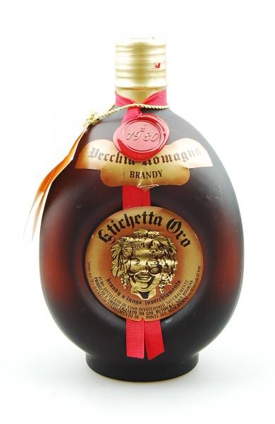 Brandy 1980 Vecchia Romagna Etichetta Oro