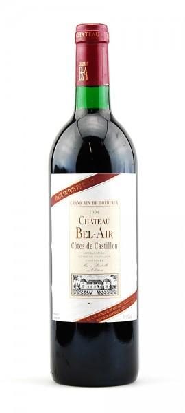 Wein 1994 Chateau Bel-Air Cotes de Castillon