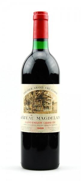Wein 1986 Chateau Magdelaine 1er Grand Cru Classe