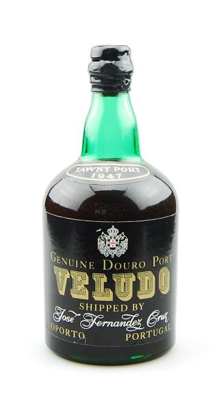 Portwein 1947 Veludo Tawny Port Cruz