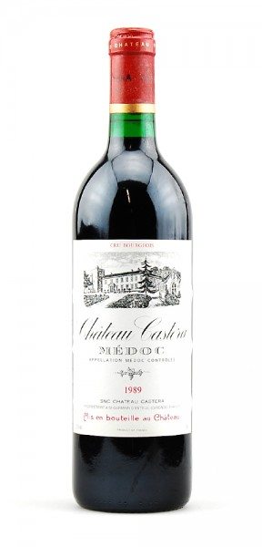 Wein 1989 Chateau Castera Cru Bourgeois Superieur