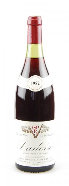 Wein 1982 Ladoix Gaston & Pierre Ravaut