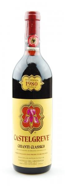 Wein 1980 Chianti Classico Castelgreve