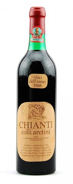 Wein 1968 Chianti Colli Aretini Valdarno