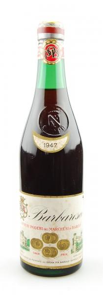 Wein 1947 Barbaresco Marchesi di Barolo