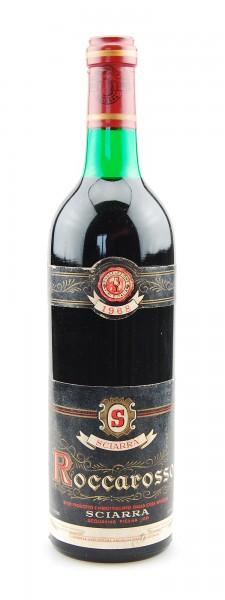 Wein 1968 Roccarosso Riserva Casa Vinicola Sciarra