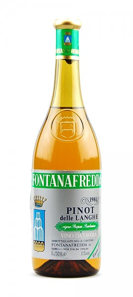 Wein 1981 Pinot delle Langhe Fontanafredda
