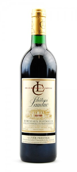 Wein 1996 Chateau Lauduc Bordeaux Superieur