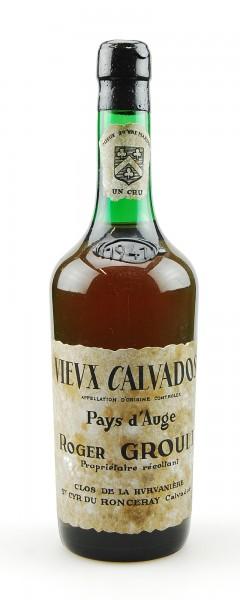 Calvados 1941 Calvados Roger Groult Pays d´ Auge Un Cru